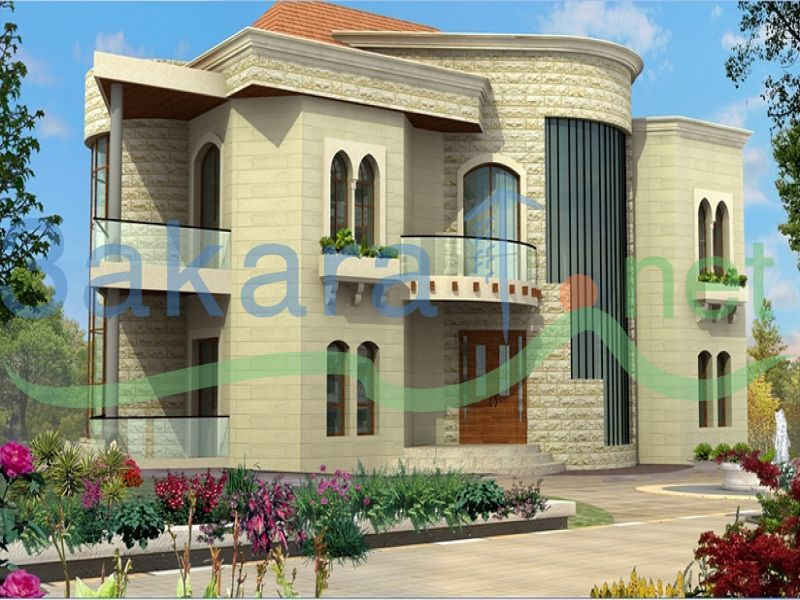 Buy sell real estate lebanon real estate portal real estate agents - Libanese villa ...