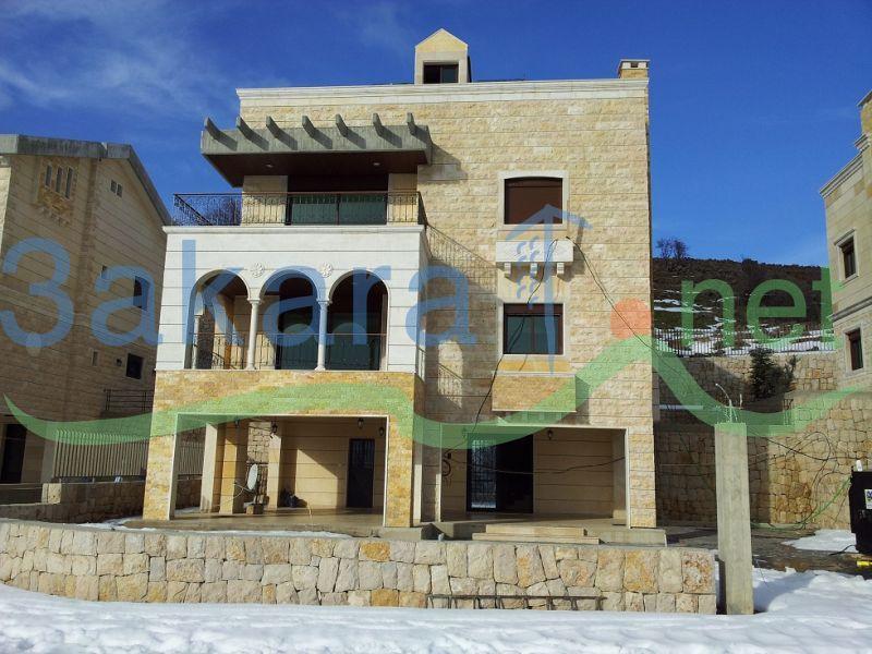 Villas for sale in wata al jozz keserwan mount lebanon lebanon 7651000000 properties lb - Libanese villa ...